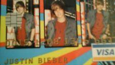 """Justin Bieber"" Credit Cruncherz Collectable Novelty Credit Card"
