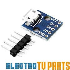 Micro USB B to DIP 5 Pin Female DIY Pin Out Soldering Circuit PCB Board CJMCU