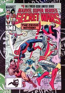 Marvel Super Heroes Secret Wars #3 1984 X-Men She-Hulk Disney+ 1st App Titania!