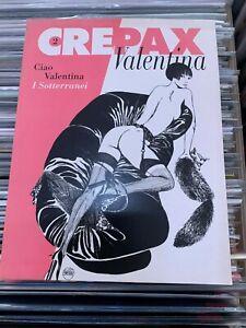 Crepax Valentina N. 2 Blue Press - COME NUOVO -
