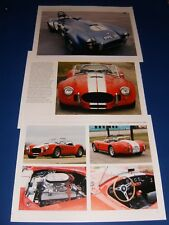 ★★1963-65 SHELBY AC COBRA PHOTO/POSTER LOT 63 64 65 289 1964 1965 427★★