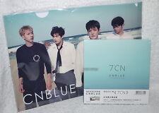 CNBLUE Mini Album Vol. 7 7°CN Taiwan Ltd CD+72P+Folder (Clear File)