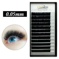 LASHVIEW Eyelash Extensions Individual Mink Lashes SOFT .05 Russian Volume Lash