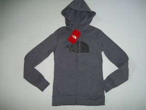 The NORTH FACE Full Zip FAVE Half Dome Full Zip Hoodie JACKET Womens Sz XS NEW