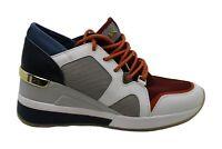 Michael Michael Kors Women's Shoes Liv Trainer Low Top, Brandy Multi, Size 10.0