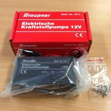 BRAND NEW GRAUPNER ELECTRIC FUEL PUMP - 12V WITH ACCESSORIES
