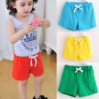 Children Kids Cotton Shorts Pants Boys Girl Clothes Baby Casual Fashion Pants