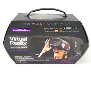 Tzumi Dream Vision Virtual Reality Smartphone Headset in Original Box & Case