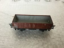 VINTAGE#Fleischmann DB Gondola Car #1205 HO Scale Tin Train Car Model