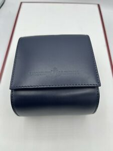 ulysse nardin travel case/ box watch leather travel box leather case