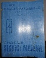 1971 Oldsmobile Shop Service Manual Original Chassis 2