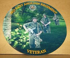 3rd East Anglian Regimiento veterano 9cm Vinilo Sticker Personalizado..