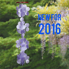 Woodstock Chimes - Capiz Waterfall - Violeta -NEW 2016  CWRV