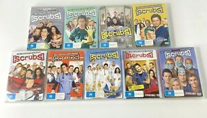 Scrubs Complete Series TV Collection DVDs Seasons 1 2 3 4 5 6 7 8 & 9