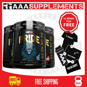 EHP LABS - PRIDE PRE-WORKOUT (40 SERVE) OXYSHRED HIGH STIM KING OF PRE WORKOUTS