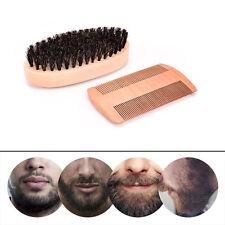 Pettine&barba spazzola impostato cinghiale setole baffi barba pulizia strumento