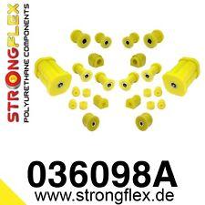 20-teiliger ! PU Buchsensatz/Kit für alle BMW E21  VA+HA StrongFlex 90ShA gelb
