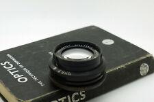 "Vintage Dallmeyer 9"" 230mm F6.5 Wide Angle Anastigmat lens 8x10 11x14 Brass"