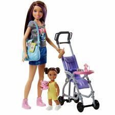 Skipper Babysitter | Barbie | Mattel FJB00 | Puppe & Kinderwagen Set | Schwester