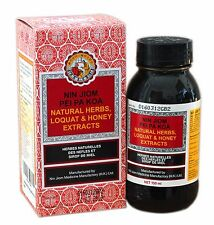 Nin Jiom Pei Pa Koa 150ml Pi Pa Gao Loquat Syrup Sore Throat Cough Phlegm