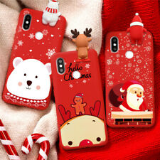 3D Doll Christmas Soft TPU Cases For Samsung Galaxy A51 A50 A41 A31 Cartoon Case