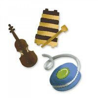 Violin Xylophone and Yo-Yo Sizzix Bigz Die by Ellison Allstar A10727 NEW!