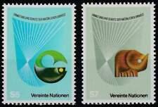 Vereinte Nationen - Wien postfris 1982 MNH 27-28 - Natuur Bescherming