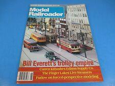 The Model Railroader Magazine August 1983, Bill Everett's Trolley Empire