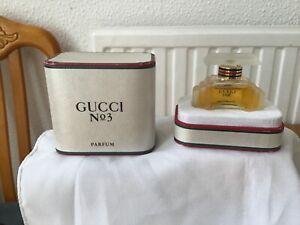 Rare Vintage Gucci no.3 parfum  7.5 ml