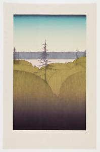Original Art Hansen lithograph printer's proof