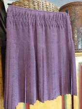 Pringle pleated silk skirt UK 8 knee length