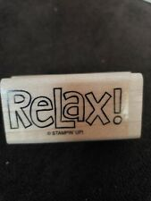 Stampin Up Relax Stamp New