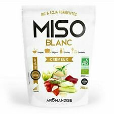 Aromandise - Miso Blanc crémeux bio 250g