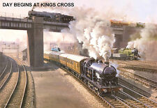 """Hornby Dublo in Railway Art """"Day Begins at King Cross"""" No. 11 Signed & Numbered."""