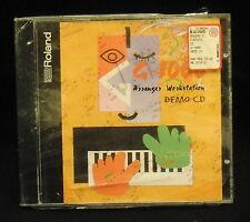 Roland Demo CD for the G-1000 Arranger Workstation, New Sealed