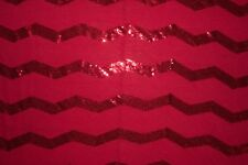 Red Sequin Jersey Knit #218 Rayon Poly Spandex Lycra Fabric BTY