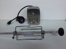 New Electric BBQ Rotisserie Kit with Motor and Spit