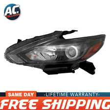 NI2503249 Halogen Headlight Assembly Driver Side for 16-18 Nissan Altima LH