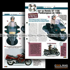 #jbt64.002 ★ HONDA ST 1100 PAN EUROPEAN 1998 ★ Joe Bar Team Fiche Moto