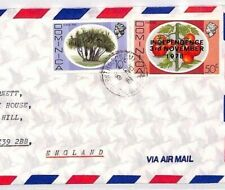 DOMINICA Cover 1981 Commercial Air Mail 50c TOMATO Independence Overprints BR194