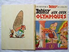ASTERIX AUX JEUX OLYMPIQUES RARE EDITION ORIGINALE 1968
