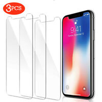 For iPhone 11 Pro Max XS XR X 8 7 6s Plus Screen Protector Tempered Glass Cover