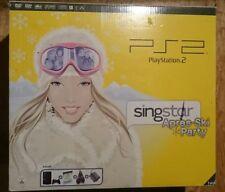 PlayStation 2 Slim Konsole SingStar Après Ski Bundle OVP