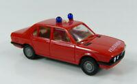 BMW 528 i Feuerwehr rot Herpa 1:87 H0 ohne OVP [BO4-E3]