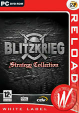 Blitzkrieg Strategy Collection with Burning Horizon for (PC DVD) SEALED NEW
