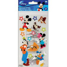 DISNEY MICKEY & FRIENDS EK Success Dimensional Stickers 51-50009 minnie goofy