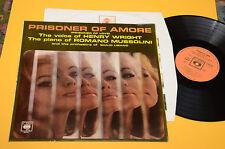 ROMANO MUSSOLINI HENRY WRIGHT LP PRISONIER OF AMORE 1°ST ORIG ITALY JAZZ 1966 EX