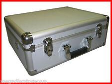 Multi Purpose Aluminum Camera Carry Case Tool and Equipment Silver CANADA n USA