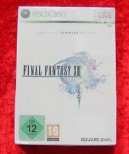 Final Fantasy XIII 13 Limitierte Sammler Edition XBox 360 Spiel Neu, deutsche V.