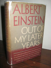 1st Edition OUT OF MY LATER YEARS Albert Einstein PHYSICS Nobel FIRST PRINTING